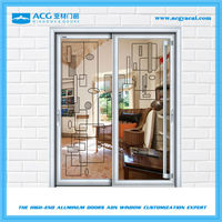 Hot sale high quality aluminium panel sliding door