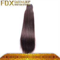 AAAAA very good quality unprocessed long hair cut from indian young gril