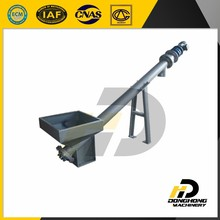 Rice powder inclined screw conveyor