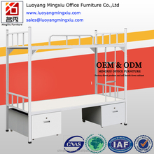 Simple steel dormitory bunk bed cheap metal army military bunk bed apartment bed