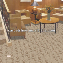 Tufted wool berber carpet