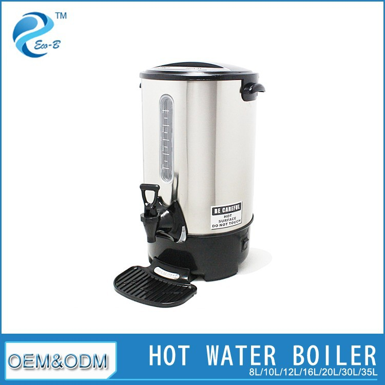 Huge Electric Wireless Stainless Steel Hot Water Urn