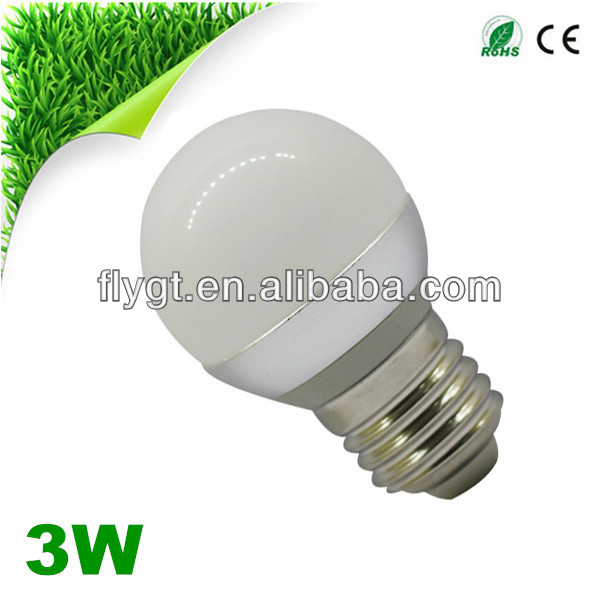 Flyt Glass housing LED global bulb cob 3W