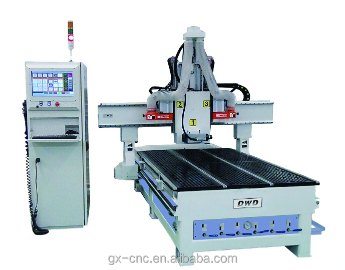 UNIC CNC Router 3 SPINDLE three procedure processing center