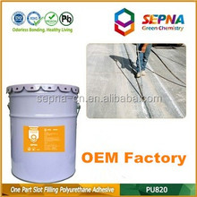 Top quality OEM color grey Self-Leveling Polyurethane infrastructure road adhesive