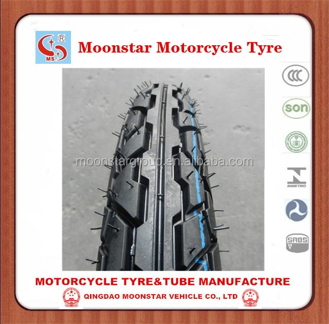 motorcycle tire and tube 3.00-17,3.00-17 motor tires Qindgao tire factory