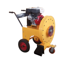 High quality hand push heavy wind force cement pavement blower