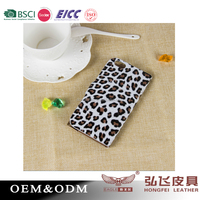 High quality phone cover for iphone 6 / 6 plus with leopard print