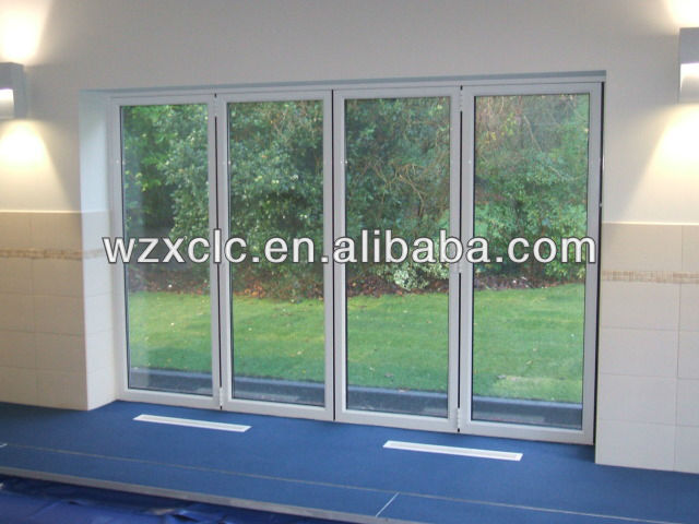 Double Glazed Aluminum Bi-folding Door