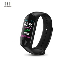 Wholesale Camera remote control bracelet waterproof silicone With Heart Rate monitor <strong>smart</strong> <strong>watch</strong> band m3 band