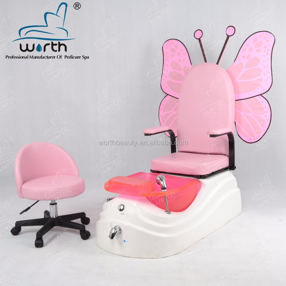 Newest Leather Joy Foot Spa Kid Pedicure Chair For Nail Salon - Buy ...