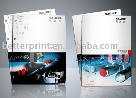 cosmetics brochure printing design printing service