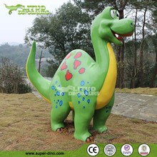 Putt Golf Courses Cartoon Dinosaur Statue For Mini Golf Decor