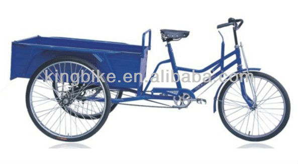 2015 Utility 3 wheel tricycle for sale/ cheap tricycle cargo bike from china KB-T-Z03