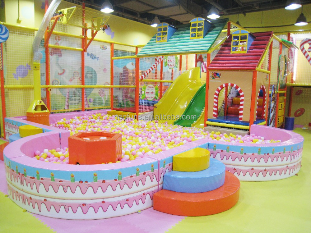 2016 Hot Selling Theme Park Game Indoor Children Playhouse Preschool Soft Playground For Kids