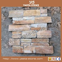 Decorative Stacked Stone Wall Tile Rough Edge Slate Tile