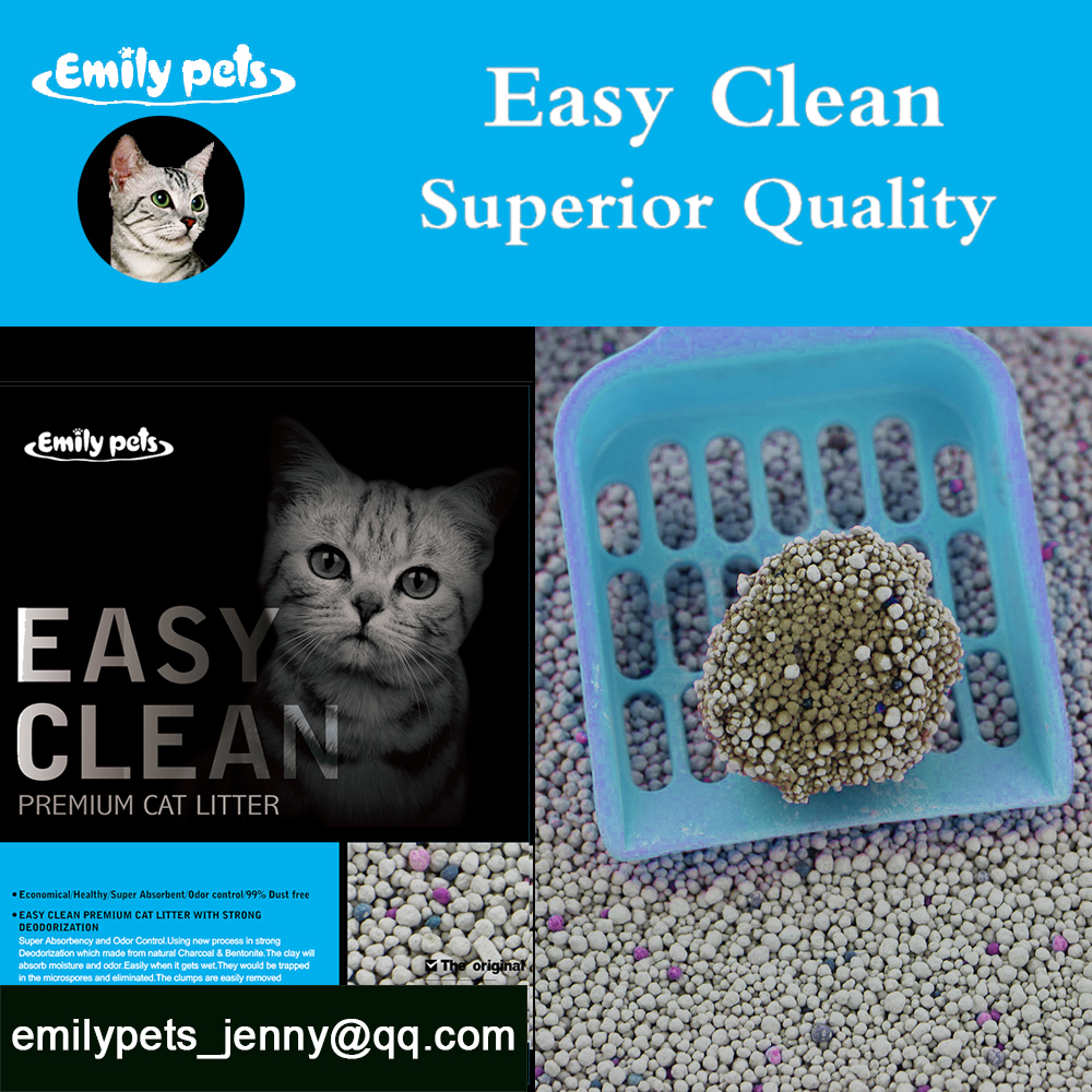 absorbent clay cat litter