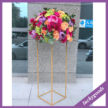 LFB623-1 Luckygoods colorful good quality table centerpiece flower arrangement hotel restaurant centerpiece flower