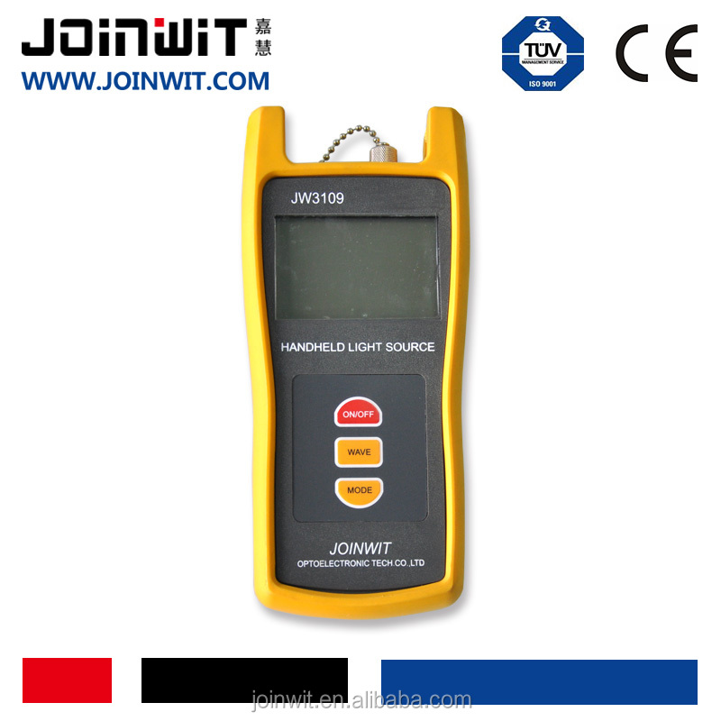 CATV tester JW3109 wavelengths650nm optical light source JOINWIT3109 FP-LD,LED