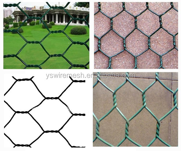 Chicken wire fencing/high quality Chicken wire netting/ Hexagonal mesh roll