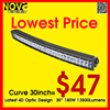 Led Lighting Solution High Output 30 Inch Car Light Bars