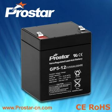 AGM Battery For Solar System 12V 5AH