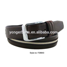 2017 Classical Man fashion pin buckle pu leather jeans belt for man