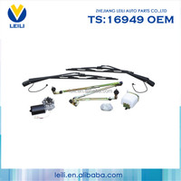 Overlapped wiper assembly with wiper linkage assembly for bus(KG-005)