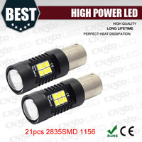 21SMD 2835 led car light high lumen led auto light 1156 1157 3156 3157 7440 7443 H8 H9 H10 H11 H16 LED