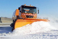 DongFeng tianjin 4X2 snow track vehicle snow fighting truck snow tracks for vehicles