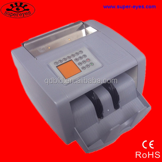 Brazil money (REAL )counting machine/money detecting machine with UV,MG