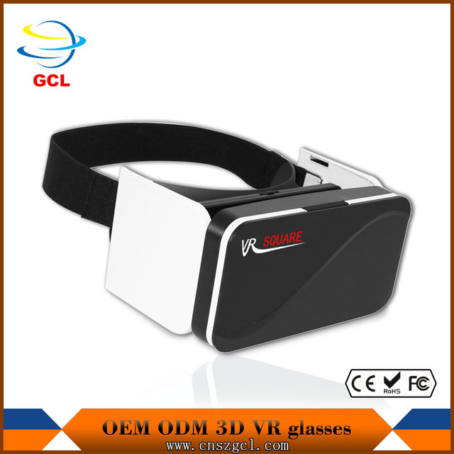 2017 folding and new Mini 3d vr case Mini folding reading glasses