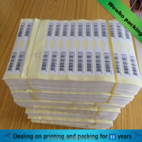 self adhesive paper sticker label