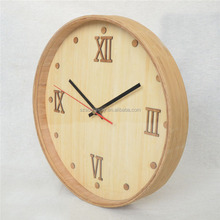 Eco-friendly Bamboo alarm clock home decor desktop clock