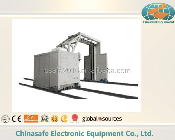 Gantry cargo inspection mobile cargo x ray scanner container scanner