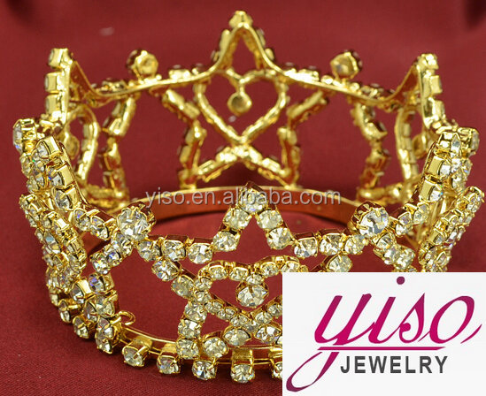 best sale gold star birthday fashion queen ladies party tiaras