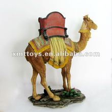 antique life live resin camel statue