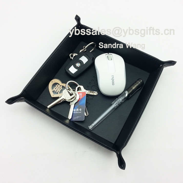 Hot Sell Premium Faux Leather Catchall Tray