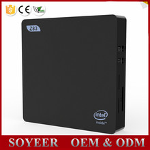 Soyeer Z83 V Intel Mini Pc Windows Tv Box Dual Screen Display Support Z83-V