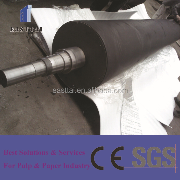 paper making forming section use large diameter breast roll