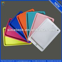 Soft silicon cover for ipad mini 2, for new ipad mini 2 soft silicon back cover case
