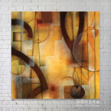 Shenzhen fine abstract original oil painting wall art