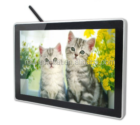 7/ 10/ 13.3/ 15.6/ 19/ 22 inch wall mounted kiosk lcd/ led video display screen /tft lcd ads player