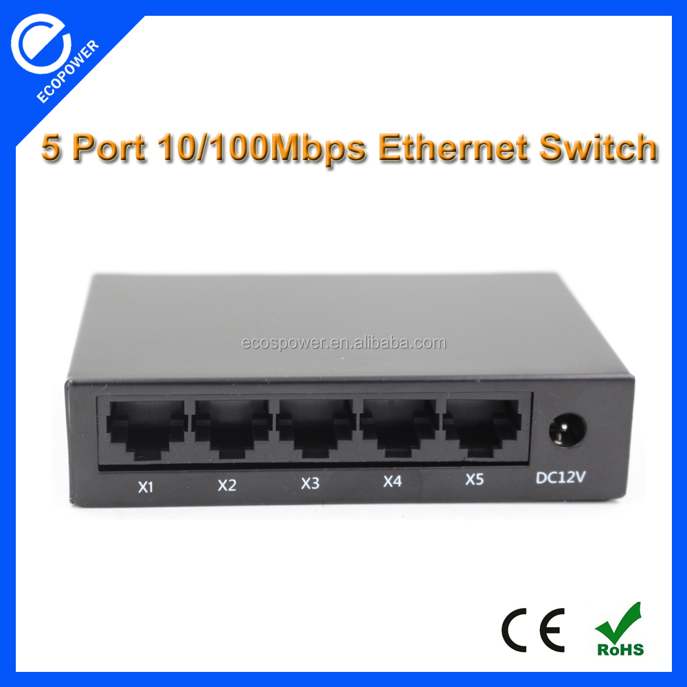 Ethernet Hub rj45 4 Port Network Switch