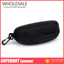 Black Zipper Sunglasses case