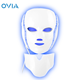 LED Photon Therapy Mask with 7 Color Light Treatment Face Beauty Skin Care Phototherapy Mask With Neck Care