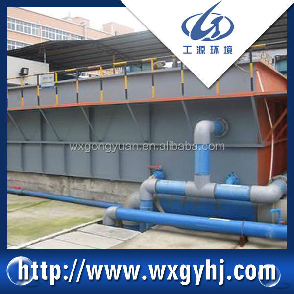 GF-200 DAF System for electrical plating wastewater treatment