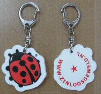 Customized promotional gift 2D 3D soft PVC keychain