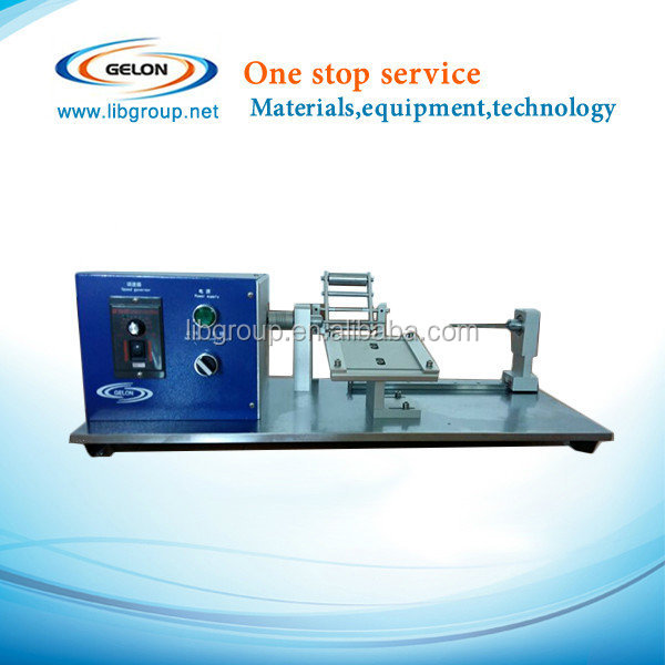 Lilthium Ion Battery Maual Winder Machine/winding Machine Laboratory Application For Cylinder Cells