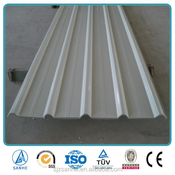 Hot Sale Low price PPGI metal roofing sheet/Hi-Q corrugated steel roofing